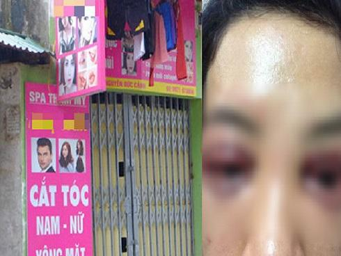 Spa thẩm mỹ tại Hà Nội nơi cô gái đi cắt mí mắt hỏng bỗng dưng 'biến mất' bí ẩn