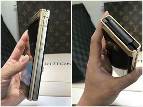 Smartphone nắp gập mới của Samsung lộ diện