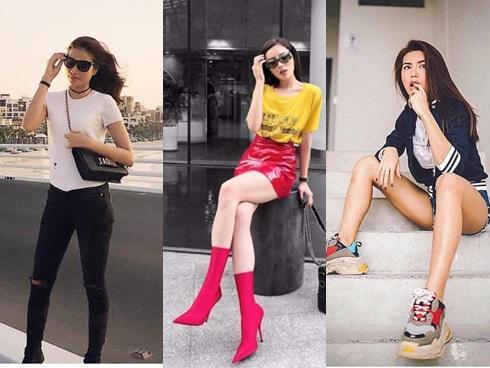Bộ ba quyền lực 'The Look' dát đầy hàng hiệu nổi bật nhất street style tuần qua