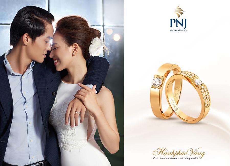 PNJ giới thiệu Trang sức cưới Hạnh Phúc Vàng-1