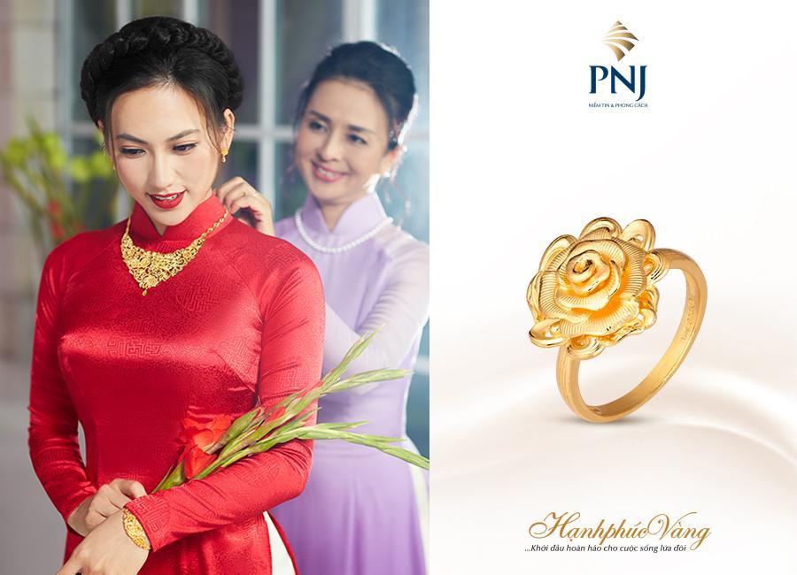 PNJ giới thiệu Trang sức cưới Hạnh Phúc Vàng-2