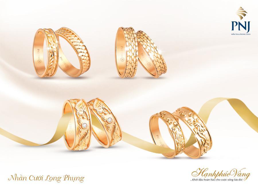 PNJ giới thiệu Trang sức cưới Hạnh Phúc Vàng-6