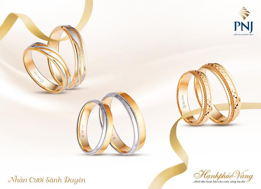 PNJ giới thiệu Trang sức cưới Hạnh Phúc Vàng-7