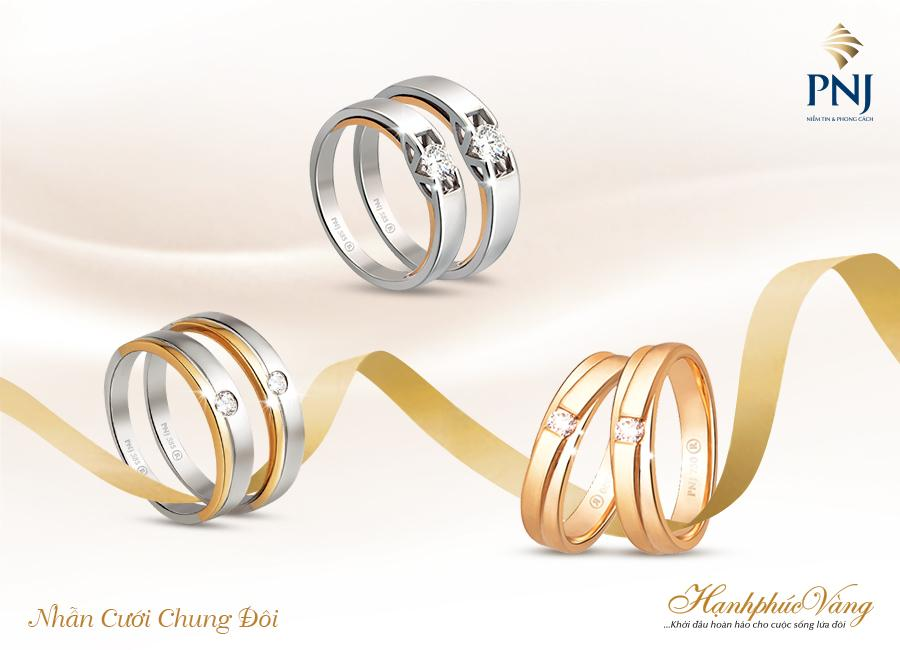 PNJ giới thiệu Trang sức cưới Hạnh Phúc Vàng-8