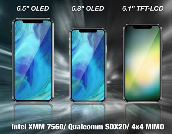 iPhone 2018 sẽ kết nối LTE nhanh hơn nhờ modem từ Intel và Qualcomm-1