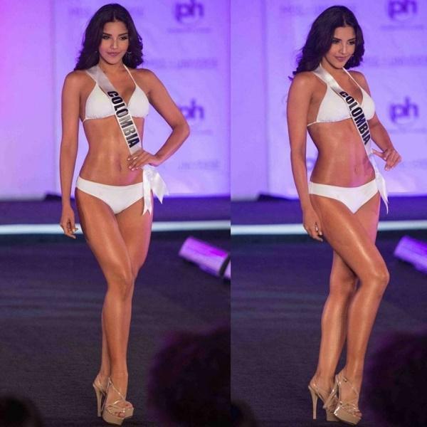 Người đẹp Miss Universe diện bikini khoe đường cong tuyệt mỹ, fan lo lắng cho Nguyễn Thị Loan-2