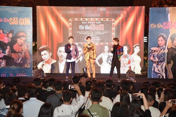 365 bất ngờ tái hợp diễn lại hit triệu view trong đại nhạc hội của Cô Ba Sài Gòn-9