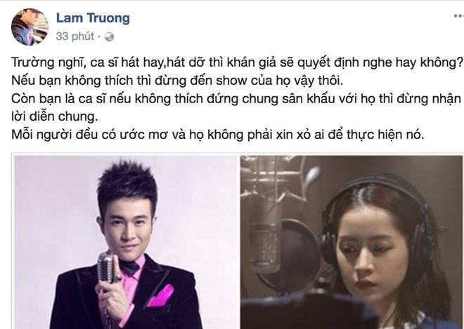 Ca sĩ phản đối chuyện đề nghị bỏ phiếu cấm Chi Pu đi hát: Không thích đứng chung sân khấu với họ thì đừng nhận lời diễn chung-1