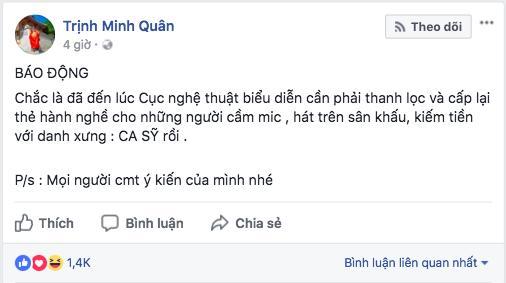 Ca sĩ phản đối chuyện đề nghị bỏ phiếu cấm Chi Pu đi hát: Không thích đứng chung sân khấu với họ thì đừng nhận lời diễn chung-2