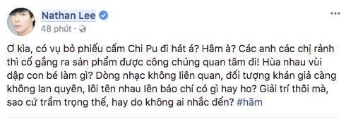 Ca sĩ phản đối chuyện đề nghị bỏ phiếu cấm Chi Pu đi hát: Không thích đứng chung sân khấu với họ thì đừng nhận lời diễn chung-3