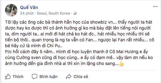 Ca sĩ phản đối chuyện đề nghị bỏ phiếu cấm Chi Pu đi hát: Không thích đứng chung sân khấu với họ thì đừng nhận lời diễn chung-5