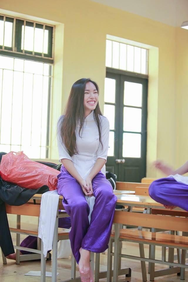 Hot girl - hot boy Việt 22/11: Hé lộ ảnh Châu Bùi cười quên trời đất thời nhất quỷ nhì ma-1