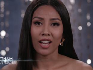 Clip Nguyễn Thị Loan nói tiếng Anh bị đánh giá 'kém hay' tại Miss Universe 2017
