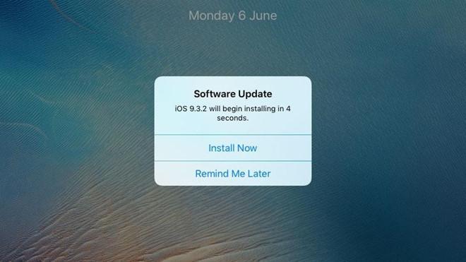 Cách chặn yêu cầu cập nhật của iOS-1