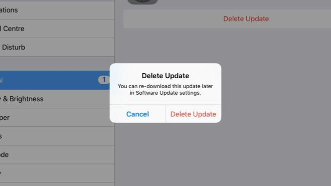 Cách chặn yêu cầu cập nhật của iOS-2