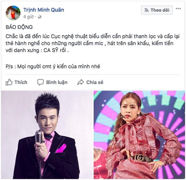 Vũ Hà: Nghệ sĩ Việt lấy quyền gì mà đòi cấm Chi Pu làm ca sĩ?-1