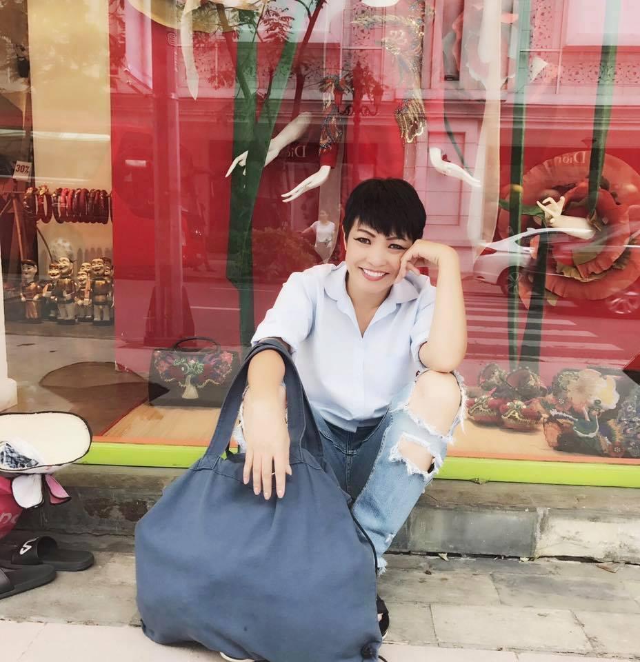 Tin sao Việt: Mệt mỏi vì xa chồng, Đan Lê liệt kê loạt công dụng của ông xã Khải Anh-8