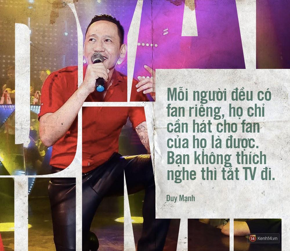 Không chỉ bênh vực Chi Pu giữa tâm bão, Duy Mạnh còn bỏ túi hàng loạt phát ngôn không thể thẳng hơn về nghề ca sĩ!-1