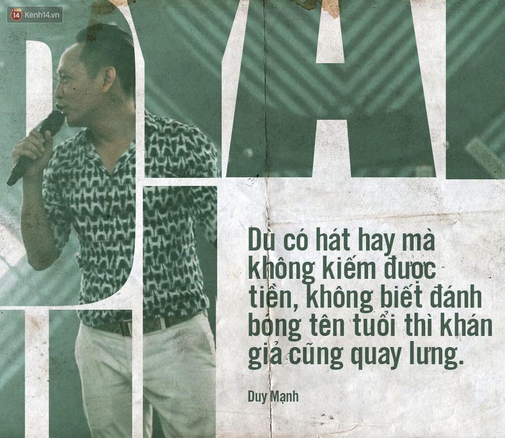 Không chỉ bênh vực Chi Pu giữa tâm bão, Duy Mạnh còn bỏ túi hàng loạt phát ngôn không thể thẳng hơn về nghề ca sĩ!-2