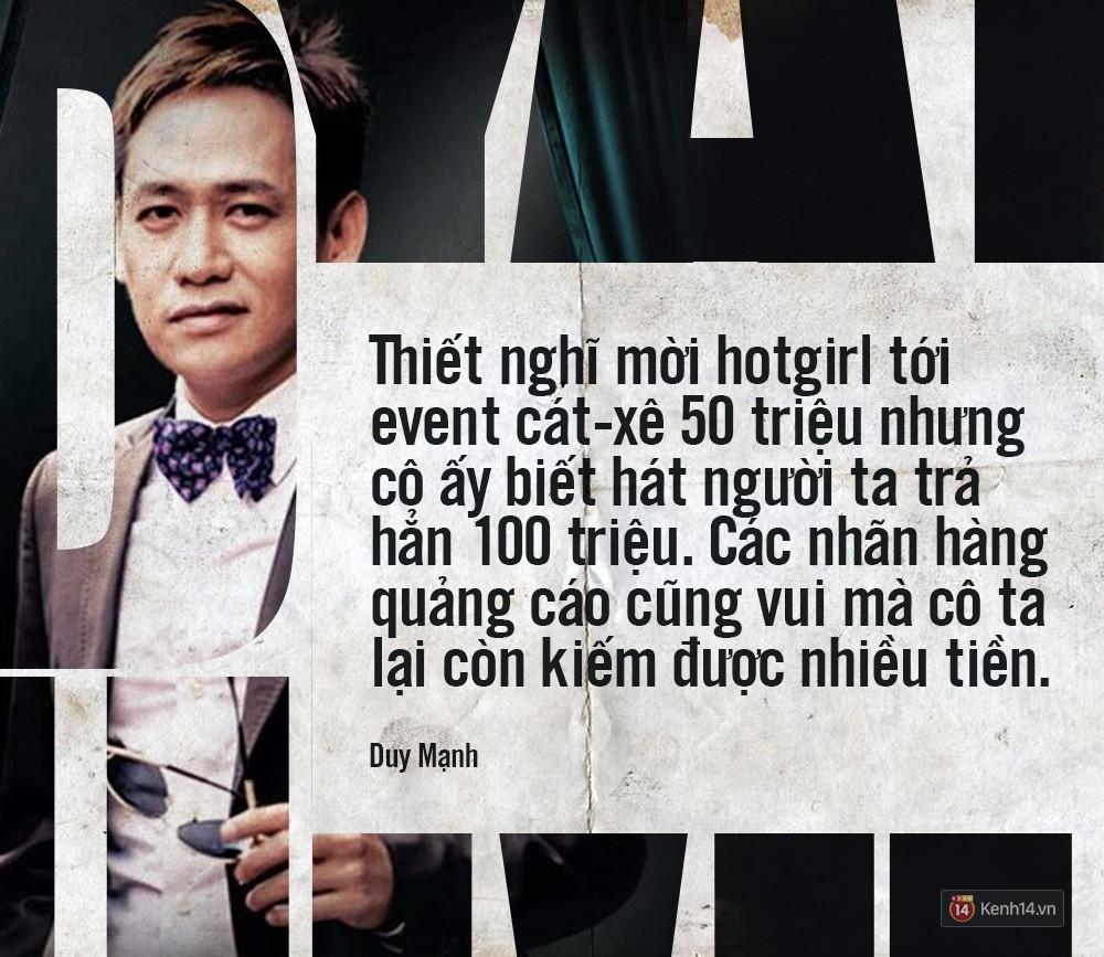 Không chỉ bênh vực Chi Pu giữa tâm bão, Duy Mạnh còn bỏ túi hàng loạt phát ngôn không thể thẳng hơn về nghề ca sĩ!-3