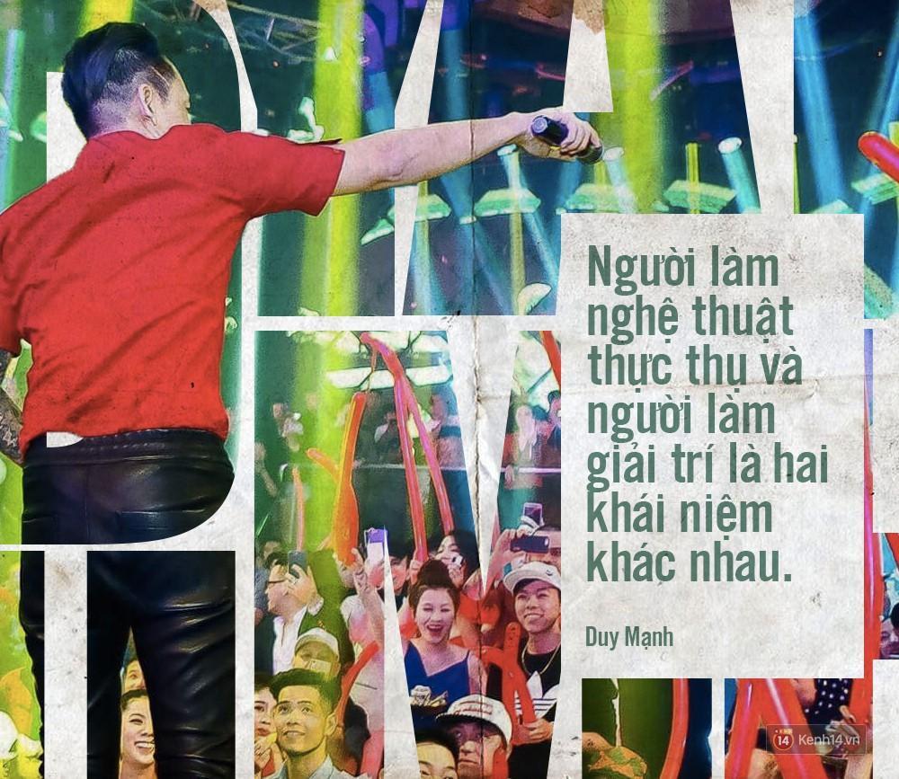 Không chỉ bênh vực Chi Pu giữa tâm bão, Duy Mạnh còn bỏ túi hàng loạt phát ngôn không thể thẳng hơn về nghề ca sĩ!-6