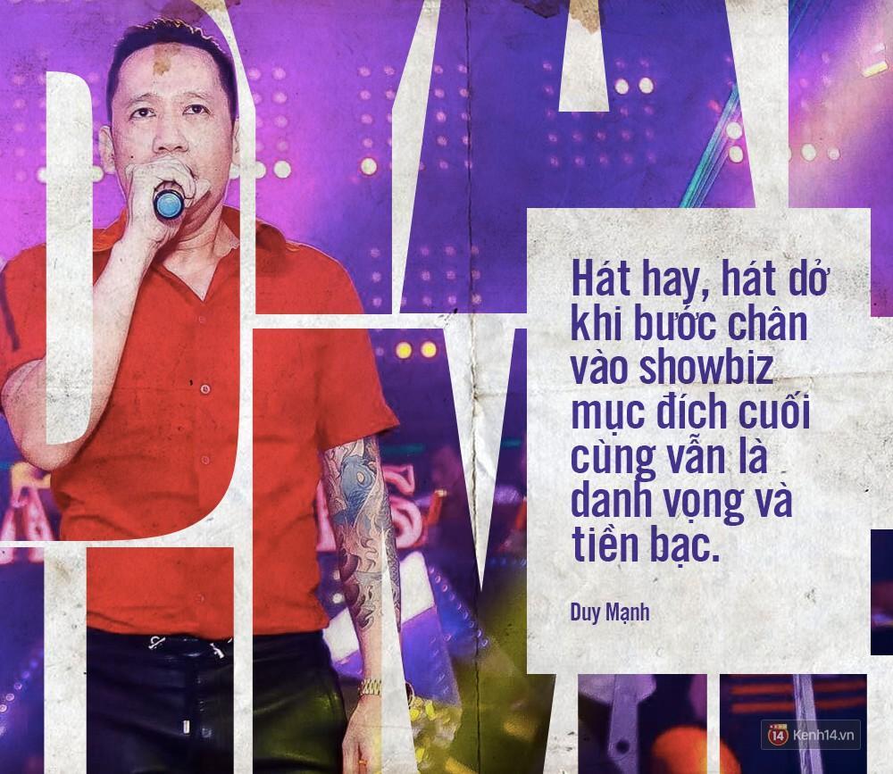 Không chỉ bênh vực Chi Pu giữa tâm bão, Duy Mạnh còn bỏ túi hàng loạt phát ngôn không thể thẳng hơn về nghề ca sĩ!-7