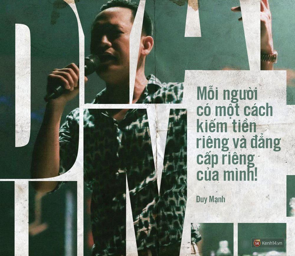 Không chỉ bênh vực Chi Pu giữa tâm bão, Duy Mạnh còn bỏ túi hàng loạt phát ngôn không thể thẳng hơn về nghề ca sĩ!-8