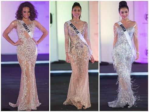 Những trang phục dạ hội đẹp xuất sắc tại bán kết Miss Universe 2017