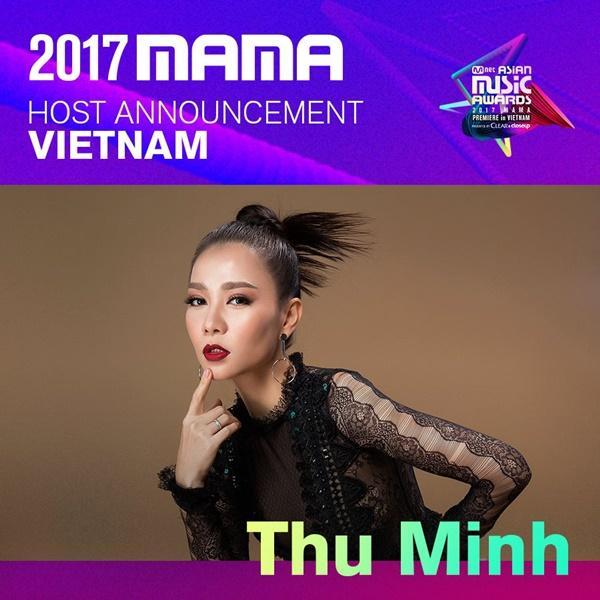 Thu Minh chính thức xác nhận trở thành host của MAMA 2017-1