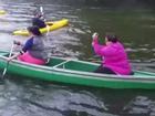 'Tê tái' với tai nạn dưới nước trong trời lạnh