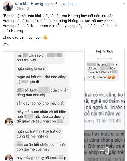 Chê Chi Pu hát live như trò đùa, Văn Mai Hương liên tiếp bị fan cuồng dọa giết-2