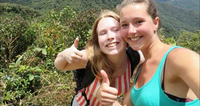 Chuyến thám hiểm định mệnh của hai cô gái trẻ và manh mối rợn người tìm được từ di vật họ để lại-2