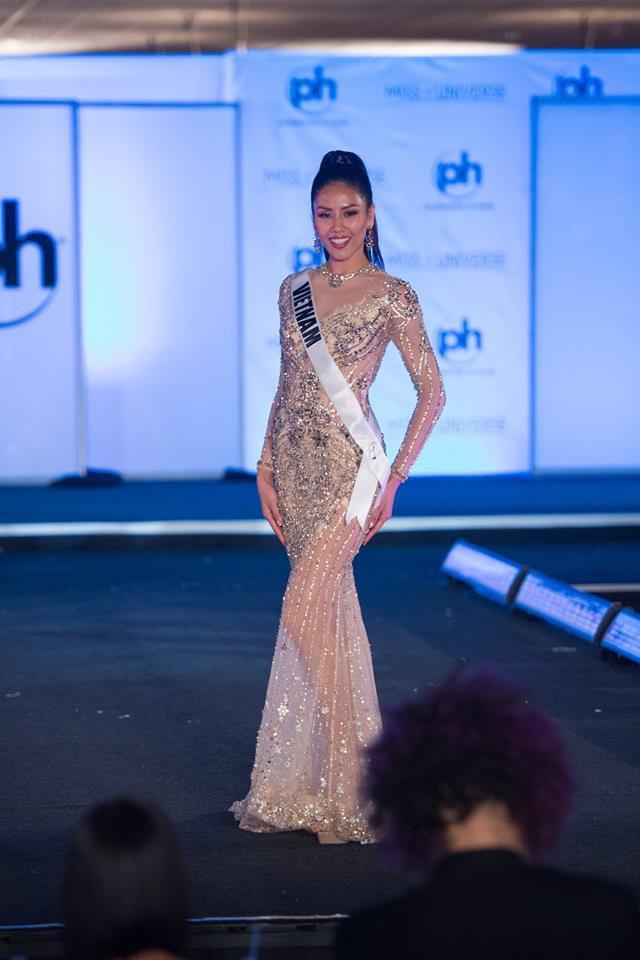 Sau bán kết Miss Universe 2017, Nguyễn Thị Loan rớt khỏi bảng dự đoán lọt top 16-4