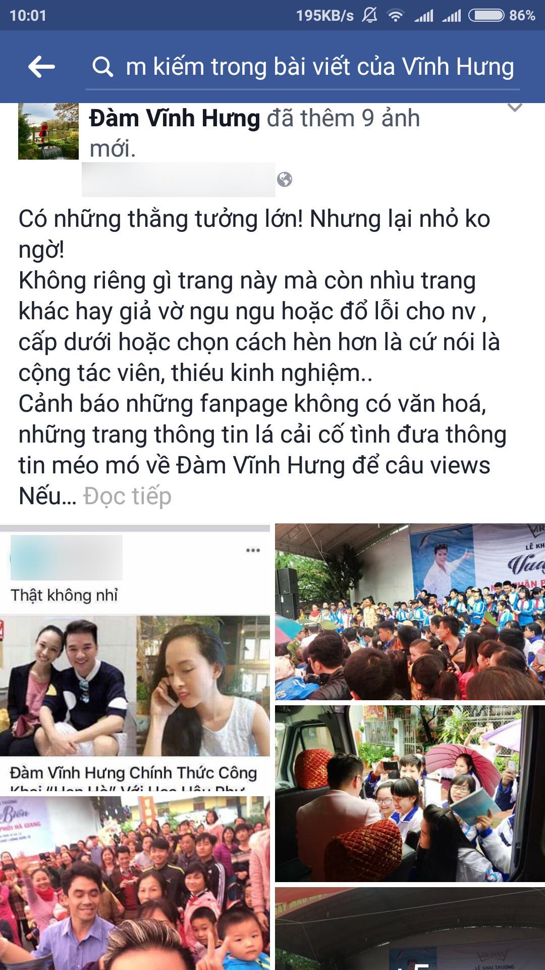 Rộ tin hẹn hò Hoa hậu Phương Nga, Đàm Vĩnh Hưng cảnh cáo fanpage lá cải giật tít câu view-1