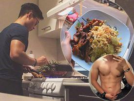 Từng phải mang mì tôm sang Tây, chàng '6 múi' khiến mẹ tưởng có bạn gái vì nấu quá khéo