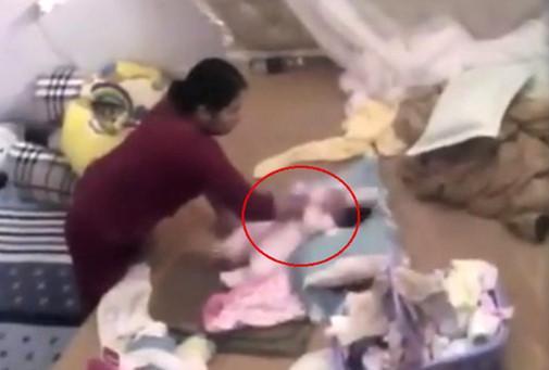 Cảnh sát điều tra vụ bé gái 1 tháng tuổi bị người giúp việc bạo hành-1