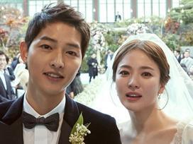 Sao Hàn: Song Hye Kyo ngọt ngào bên ông xã trong ngày sinh nhật