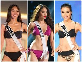 Cùng diễn bikini tại sân khấu Hoa hậu Hoàn vũ Thế giới, mỹ nhân Việt nào catwalk ấn tượng nhất?