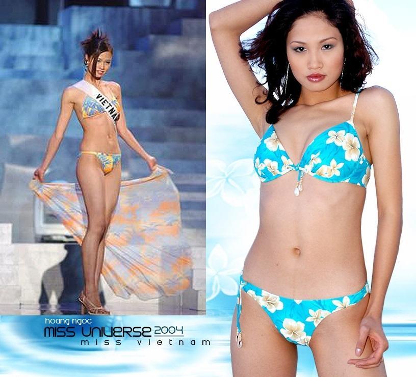 Cùng diễn bikini tại sân khấu Hoa hậu Hoàn vũ Thế giới, mỹ nhân Việt nào catwalk ấn tượng nhất?-1