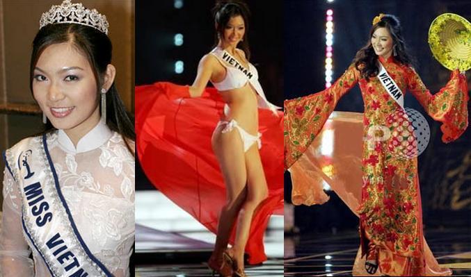 Cùng diễn bikini tại sân khấu Hoa hậu Hoàn vũ Thế giới, mỹ nhân Việt nào catwalk ấn tượng nhất?-2