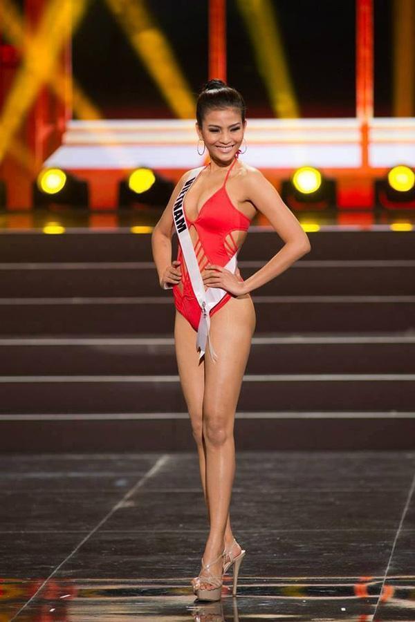 Cùng diễn bikini tại sân khấu Hoa hậu Hoàn vũ Thế giới, mỹ nhân Việt nào catwalk ấn tượng nhất?-7
