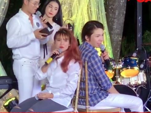 Vợ chồng Khởi My - Kelvin Khánh nói xấu nhau trong ngày cưới