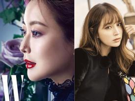 Sao Hàn 24/11: Lee Min Jung, Kim Hee Sun đọ sắc trên tạp chí