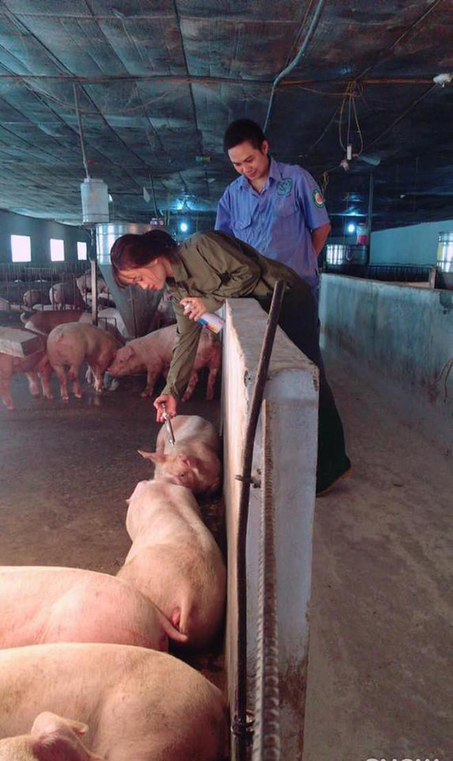 Cô nàng chăn lợn xinh đẹp gây tò mò nhất Facebook hôm nay!-4
