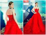 Hoa hậu HHen Niê đọ sắc cùng Hoàng Thùy và Mâu Thủy trên thảm đỏ Ngôi sao xanh-14