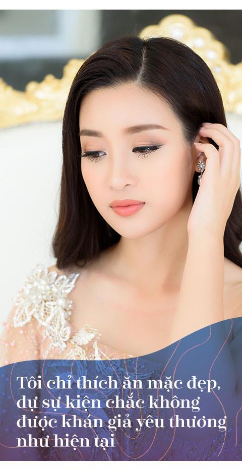 Hoa hậu Đỗ Mỹ Linh: Không cần đàn ông giàu, chỉ cần trưởng thành-2