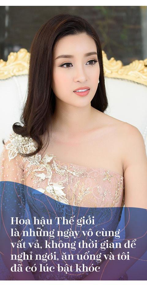 Hoa hậu Đỗ Mỹ Linh: Không cần đàn ông giàu, chỉ cần trưởng thành-6
