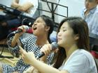 Các giọng ca nhí ráo riết luyện tập cho đêm Chung kết 'Giọng hát Việt nhí 2017'