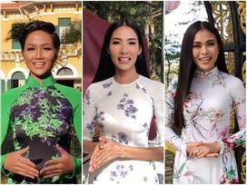 45 mỹ nhân chúc Nguyễn Thị Loan chiến thắng tại Hoa hậu Hoàn vũ Thế giới 2017