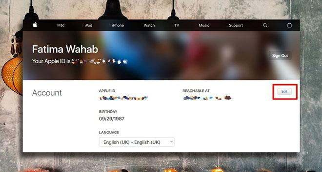 Cách thay đổi địa chỉ email đã khai báo trên Apple ID-2